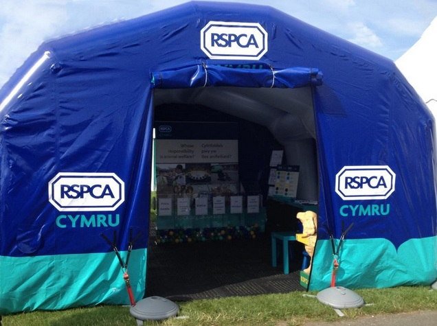 RSPCA Tent
