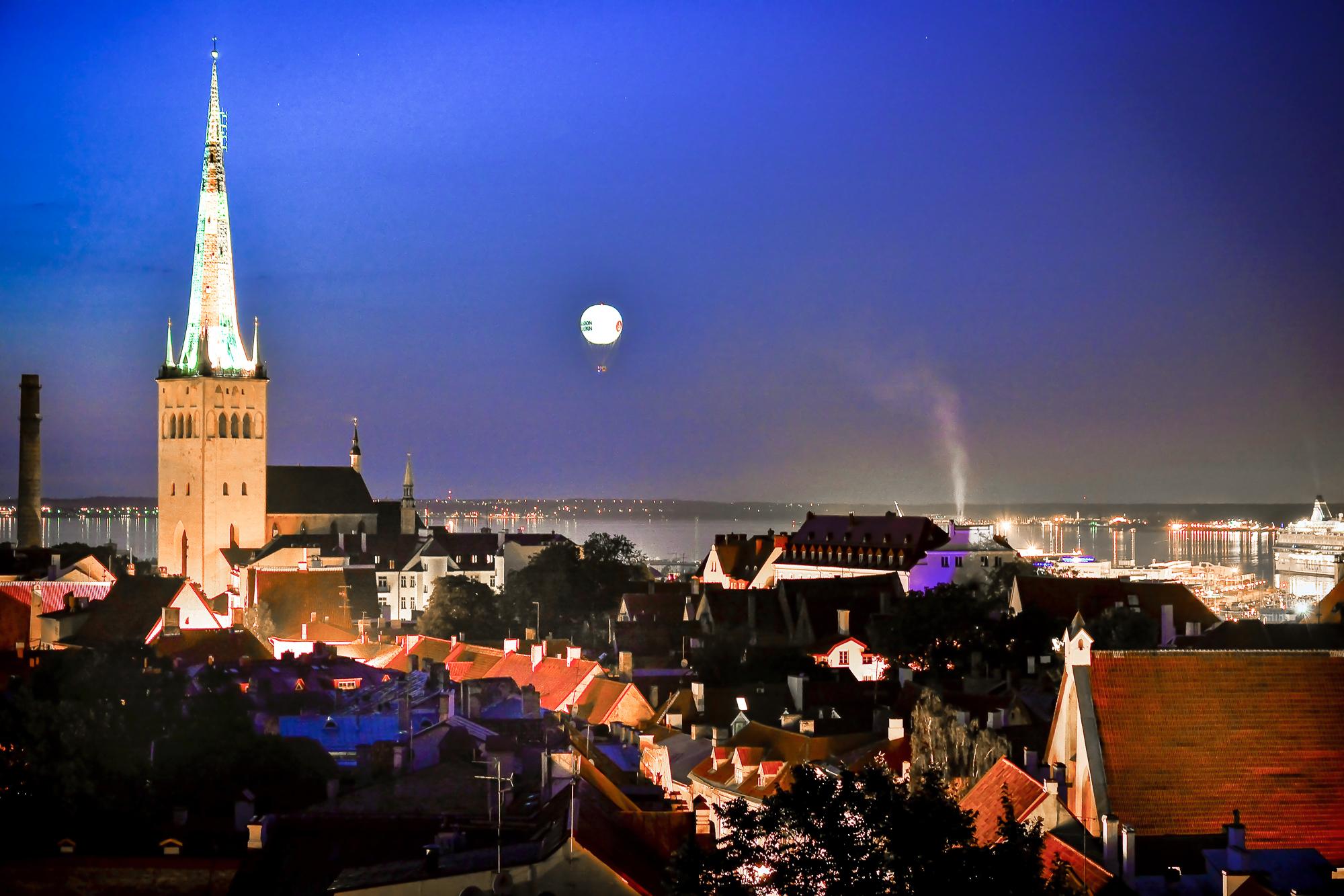 Stunning Views of Tallinn HiFlyer