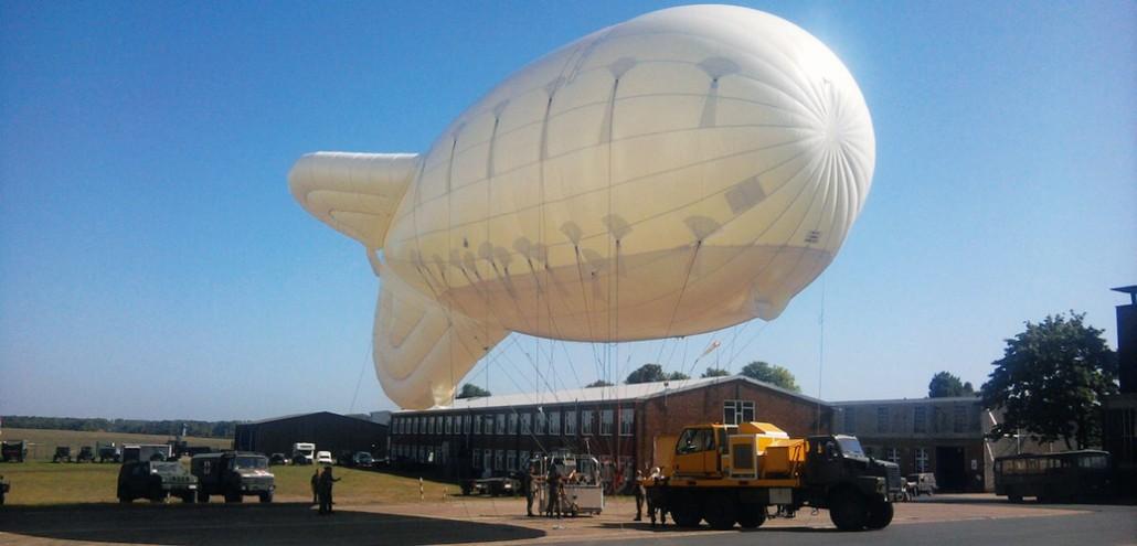 Belgian Parachute Training Balloon