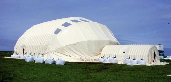 Inflatable Decontamination Unit