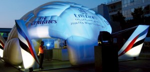 FIFA Inflatable Trade Stand