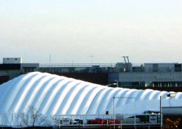 Heathrow Airport Inflatable Roof