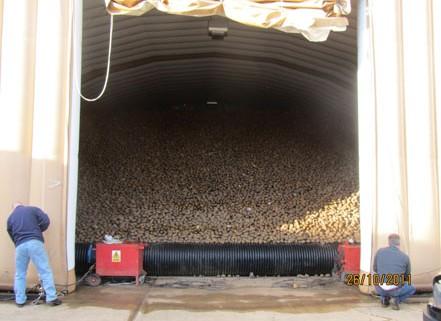 Inflatable Crop Storage