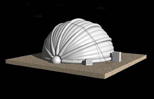 Inflatable Telescope Dome