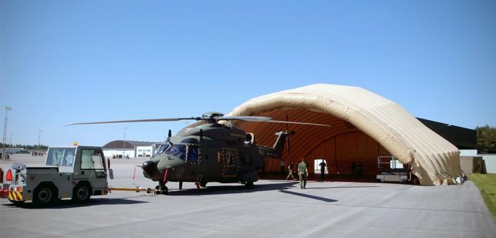 NH90 Inflatable Hangar