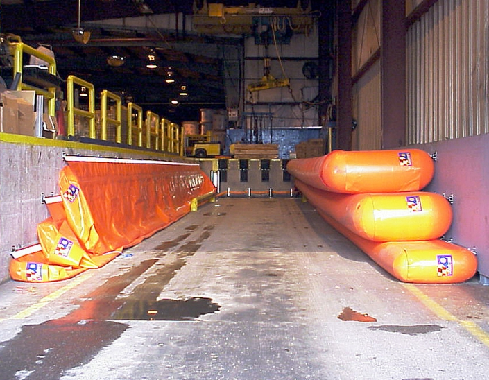 Alcan Inflatable Loading Bay