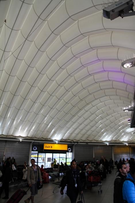 Heathrow CBS Inflatable Roof