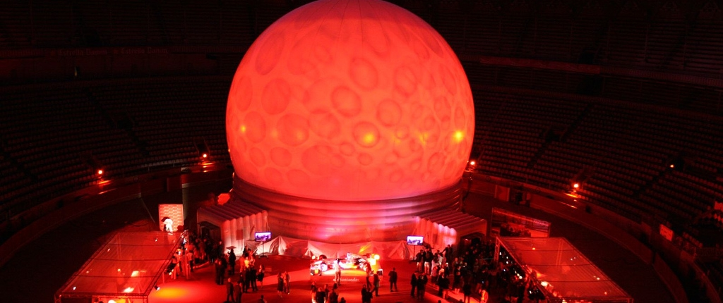Inflatable Audio Video Dome