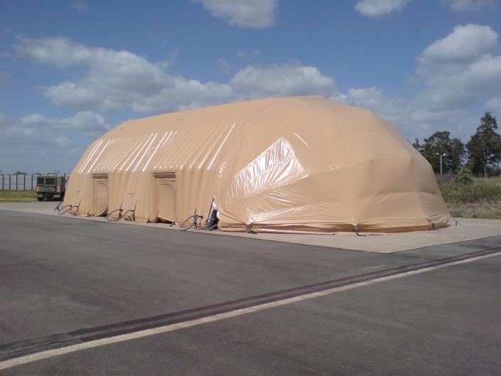 SAAB Griphen Inflatbale Aircraft Hangar